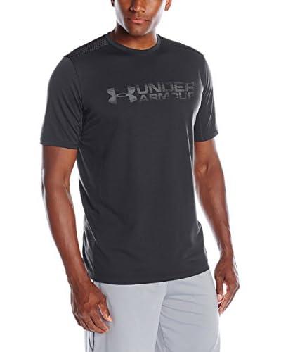 Under Armour T-Shirt Ua Raid Turbo Graphic Ss schwarz
