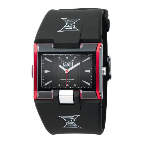 TapouT Men's HR-BK/RED Heroes Analogue Sports Watch