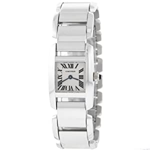 Cartier Tankissime W650029H 18kt 17mm White Gold Mini Ladies Watch