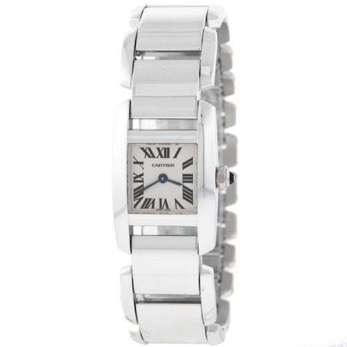Cartier - Reloj de pulsera mujer, plata