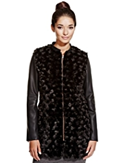 Limited Edition Faux Fur Poppy Jacket