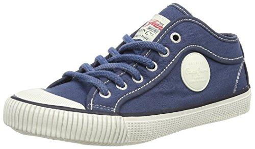 Pepe Jeans  Industry Basic,  Jungen Sneaker , Blau - Blau - Bleu (548 Blueprint) - Größe: 32