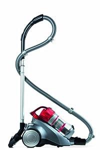 Dirt Devil M5036-4 beutelloser Staubsauger Infinity VS8 (Turbo, beutellos, 1600 Watt , 1,5 L Volumen, Turbo- und Parkettbürste) anthrazit-rot