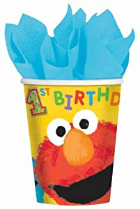 Sesame Street 1st - 9 oz. Paper Cups Party Accessory by AMSCAN