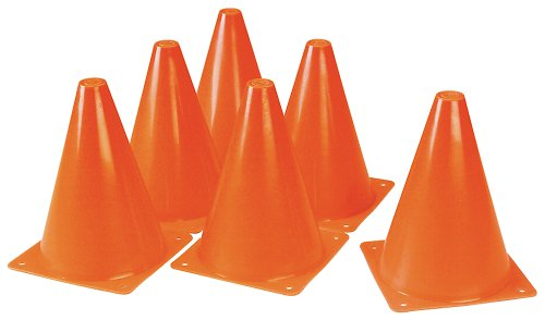 "Duratrax Kwik Trak Orange Racing Cones, 6.5"" (6-Piece)"