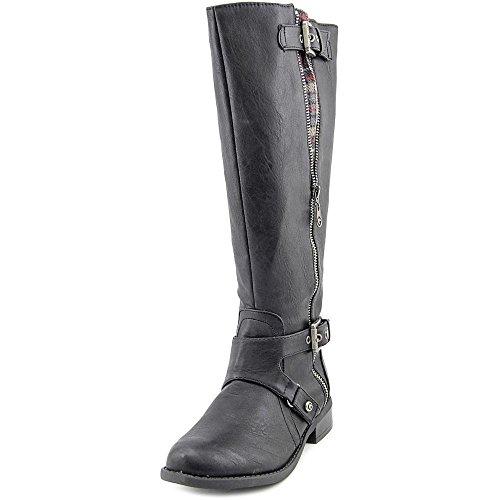 Guess Hertle Donna Nero Pelle sintetica Stivali Scarpe 37 EU