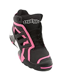 Adidas Mens Streetball Basketball Shoes Black/pink