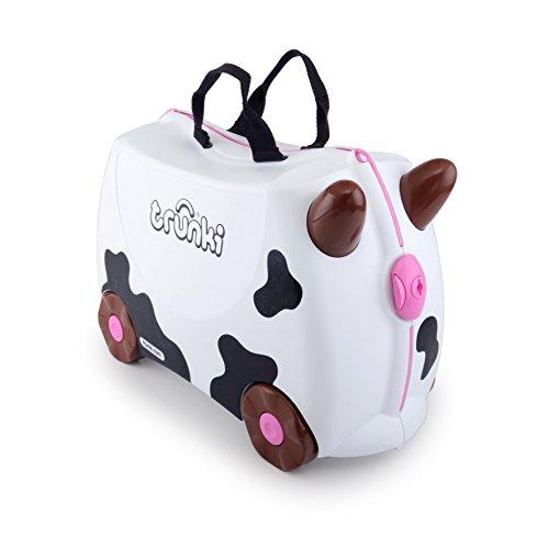 Trunki The Original Ride On Suitcase New Frieda, White