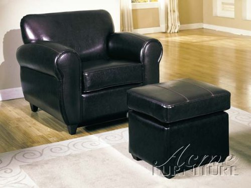 Teton Chair and Ottoman Set #AC 018125