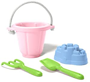 Green Toys Sand Play Set, Pink