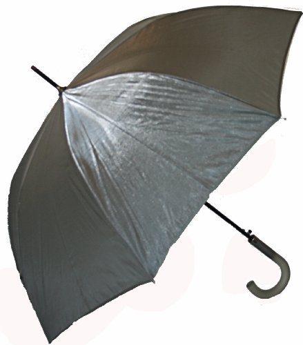 Jani Markel Womens Iridescent Umbrella Silver/Grey