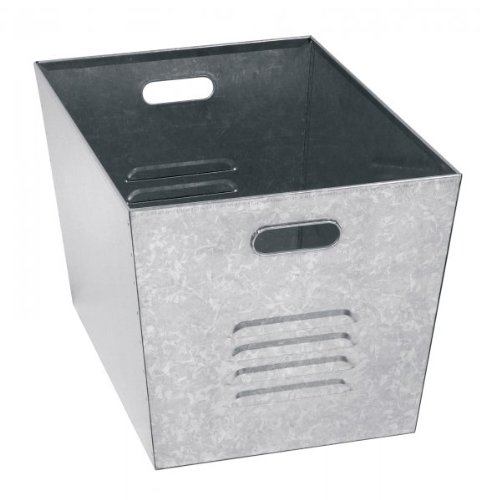 Ikea Lockers Shopping Galvanized Utility Bins Set Of 6