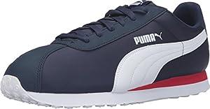PUMA Men's Turin NL Fashion Sneaker, Peacoat/Puma White, 7.5 M US