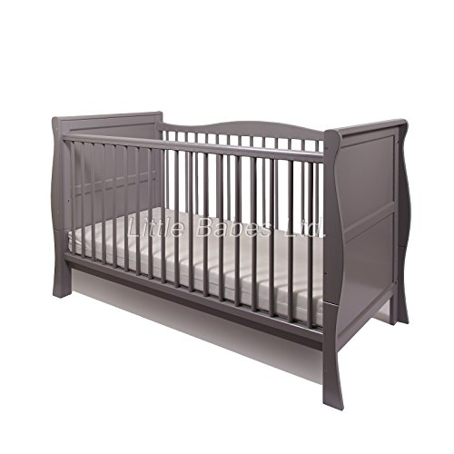 beautiful-new-pine-wood-grey-sleigh-baby-cot-bed-junior-bed-luxurious-pocket-spring-sprung-cotbed-ma