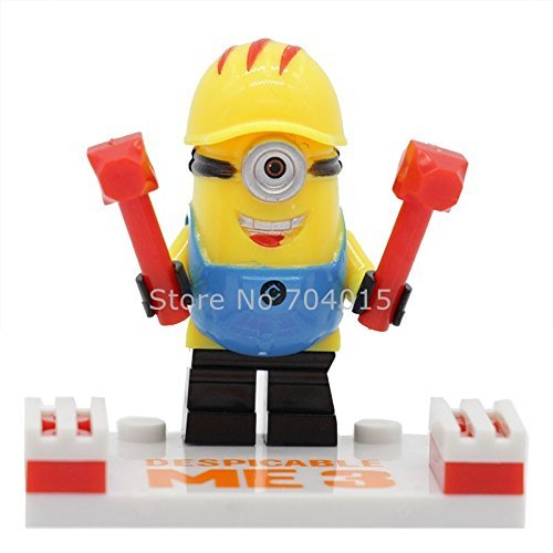Minions Despicable Me 6 Pcs Set Minifigures Building Blocks Bricks Educational Toys New Kids Gift Compatible With Lego