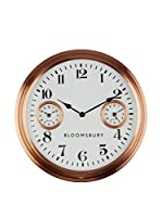 Premier Interiors Reloj De Pared Copper