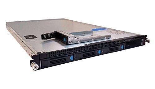 Microtel 1U Server Barebone System with Single Intel Xeon E3/I3 SandyBridge H2, 4X3.5 Hotswap Bay 500W Power Supply