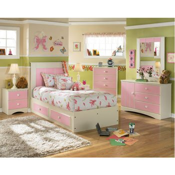 Strawberry Ice Cream Captain's Bedroom Set by Signature Design