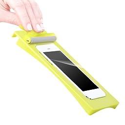 PureGear PureTek Roll-On Screen Shield Kit for iPhone 6s Plus/6 Plus Flexible Glass