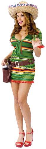 Fun World Costumes Women's Womens  Shooter, Green, S/M 2-8