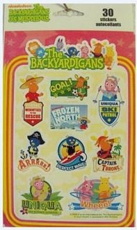The Backyardigans 30 stickers/autocollants - 1