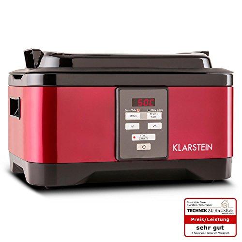 Klarstein-Tastemaker-Sous-Vide-Garer-Vakuumgarer-zum-Niedrigtemperaturgaren