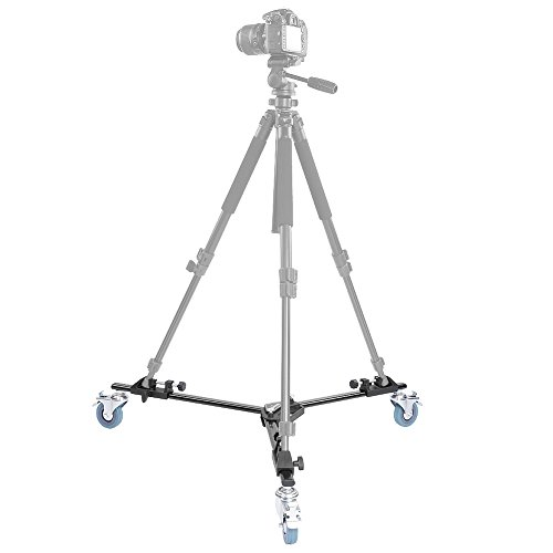 Neewer-Photography-Professional-Tripod-Dolly-with-Rubber-Wheels-for-Camera-Photo-Video