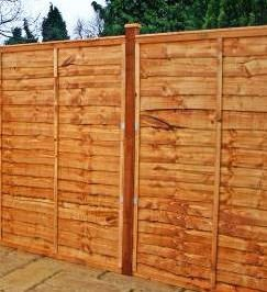 5ft Waney Edge Fencing Panels
