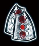 PEUGEOT 307 SW (ESTATE) 2002-2005 TAIL LIGHTS - CHROME LEXUS-STYLE