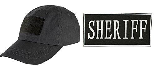 [Condor Stealth Black Cap + ENFORCEMENT ID PATCH 2