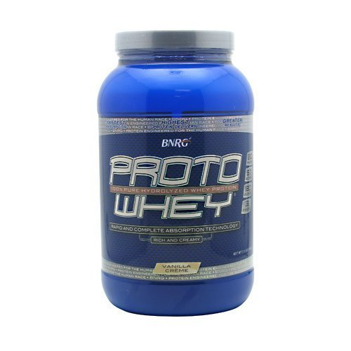 Power Crunch Proto Whey Vanilla Creme 2.1 lbs by Bio Nutritional