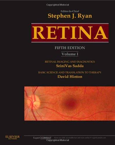 Retina: Expert Consult Premium Edition: Enhanced Online Features and Print, 3-Volume Set, 5e (Ryan, Retina)