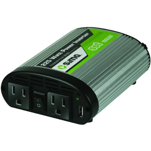 Sima Stp-225 225-Watt Power Inverter - Mobile Audio, Video & Accessories