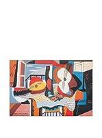 Artopweb Panel Decorativo Picasso Mandolino E Chitarra, 1924 - 60x90 cm (vuoto)