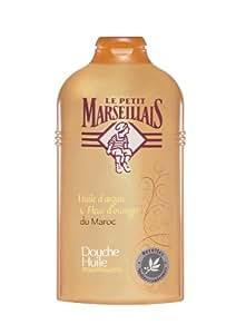 Le Petit Marseillais - Douche Huile Nourrissante / Huile d'Argan & Fleur d'Oranger du Maroc - 250 ml - Lot de 2