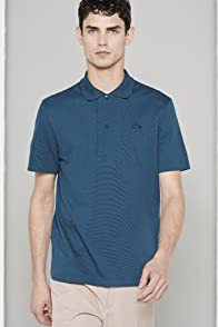 Men's Fashion Show Short Sleeve Pique Polo