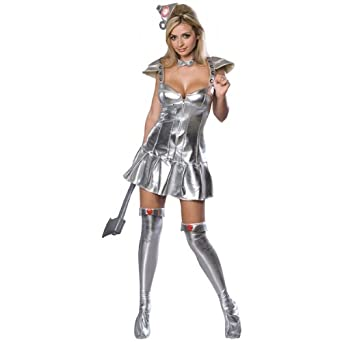 Sexy Female Tin Woman Costume