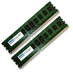DELL CERTIFIED 32GB Kit ( 2 x 16GB ) RAM Upgrade for the Poweredge R510 DDR3 PC3-10600 ECC REGISTERED CL9 Upgrade