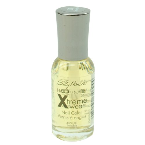 Sally Hansen Hard as Nails Xtreme Wear, Invisible, 0.4 Fluid Ounce (074170346244)