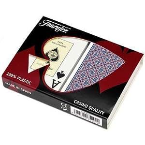 Fournier Arabesco Bridge Size Jumbo Index Playing Cards