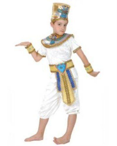 Pams Childrens Egyptian Prince Fancy Dress Costume - Small Size