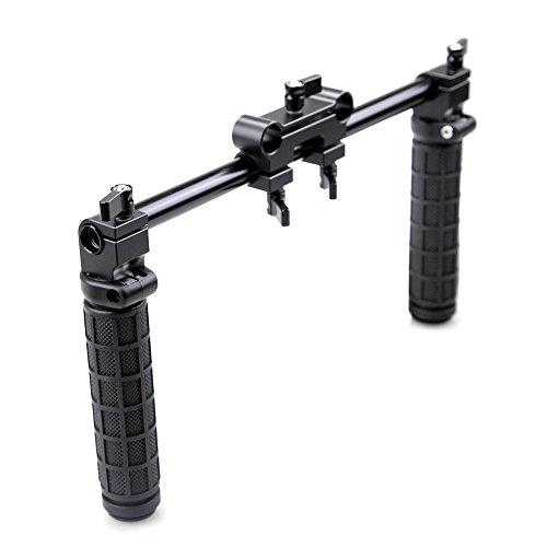 Coolhandles V5 Hand Grip Handles for 15mm Rail Rod System Dslr 15mm Shoulder Rig System Dslr Cameras Follow Focus 5d Mark Ii 60d 7d - 998 (5d Mark Ii Rig compare prices)