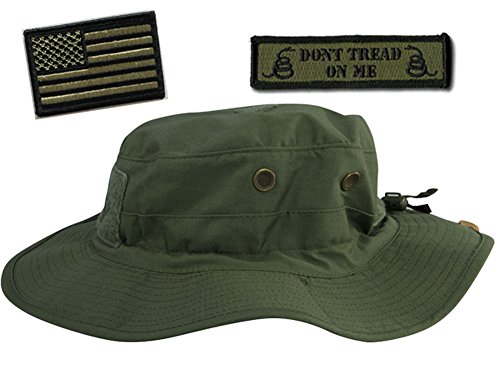 Operator Boonie Hat Bundle   Patches - USA DTOM Olive Drab - Import ... cb4b658b5b1