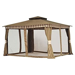 Gazebo Replacement Canopy - RipLock 350 : Gazebo Home Depot : Patio