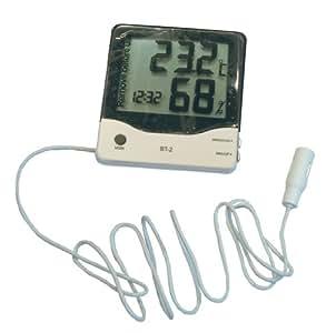 Namiba Terra 0692 Digital Thermo/Hygrometer inklusive externem Sensor, für Temperatur und Luftfeuchtigkeit