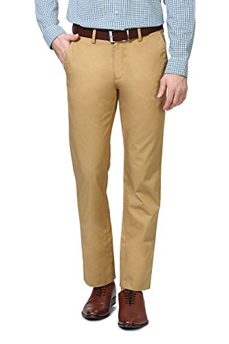 Allen Solly Khaki Trousers