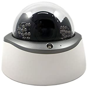 Aposonic A-CDMIV04R In-door Dome Day & Night Vision 24 IR LEDs / 70 FT. Visibility CCTV Surveillance Camera