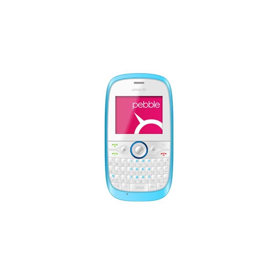 Unnecto U 200 2NA pebble   Unlocked Phone   Retail Packaging   US Warranty   White/Blue