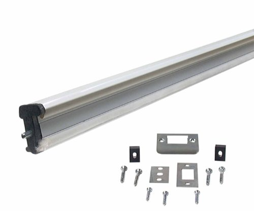 M-D Building Products 87791 WS059 80-Inch Aluminum Locking Slide Bolt Combination Astragal (Combination Slide compare prices)