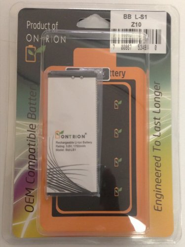 Ontrion 1700mAh Battery (For Blackberry Z10)